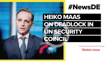 Maas: UN Security Council only conditionally capable of acting