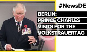 Berlin: Prince Charles visits for the Volkstrauertag