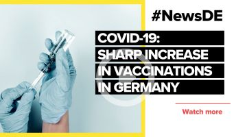 COVID-19: Sharp increase in vaccinations in Germany
