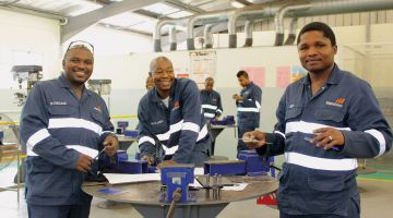 German skilled crafts training has also proved successful in South Africa.