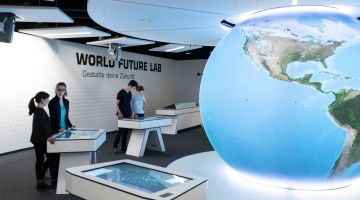 World Future Lab at the Klimahaus Bremerhaven