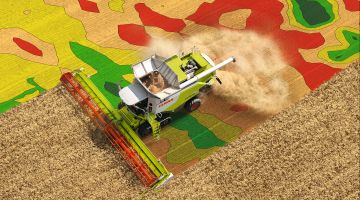 Yield mapping in modern farming