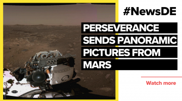 "Rover ""Perseverance"" sends panoramic image from Mars"