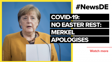 After canceling Easter rest: Merkel apologises