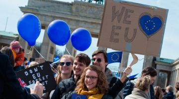 Young people are committed to cohesion in the EU.