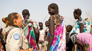 Protecting the civilian population: UN mission in South Sudan (UNMISS)