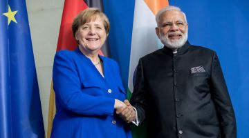 Indian PM Modi to meet German Chancellor Merkel