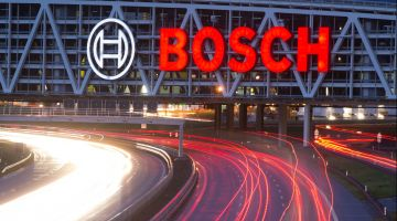 Bosch drives ahead