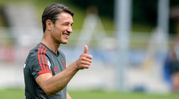Niko Kovac, the new manager at Bayern München