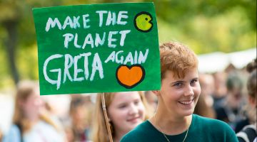 Fridays for Future demo in Magdeburg