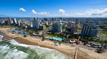 "Durban forma parte de la red ""Cities Fit for Climate Change""."