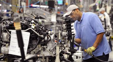 VW works in Chattanooga: highly rated as an employer.