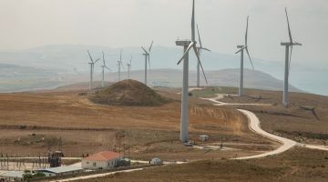 Windpark am Marmara-Meer