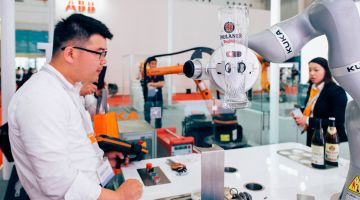 Direct investment in Germany: the robot manufacturer Kuka is now in Chinese hands.