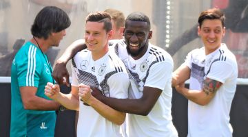 The German national football team: the thrill of anticipation – the Football World Cup 2018.