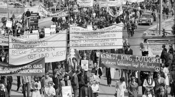 Student protests in 1968