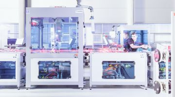 Industry 4.0: digitized production allows maximum flexibility.