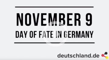 November 9 - Day of fate in Germany