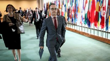 Foreign Minister Heiko Maas at UN headquarters