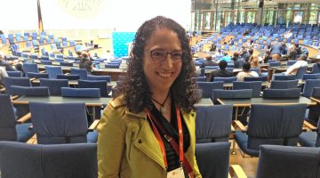 Emilia Díaz Struck en el Global Media Forum de Bonn