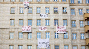 Rising demand, rising rents: strong protest