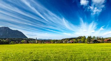 Germany's villages: a delightful environment in which to live.