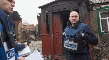 Oliver Palkowitsch, OSCE Monitoring Officer in the Ukraine.