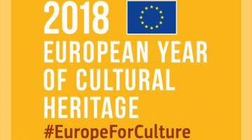 Logo: 2018 - European Year of Cultural Heritage