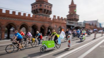 Cyclists in Berlin: New opportunities in the Covid-19 crisis