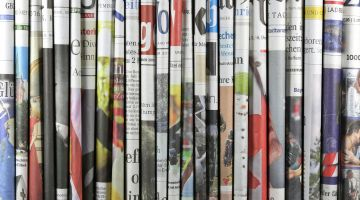 A land of newspapers: every day, 327 daily newspapers are published in Germany.