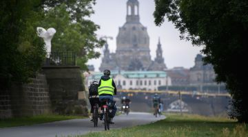 Dresden: Space for environmentally friendly transport