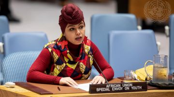 Aya Chebbi, African Union Special Envoy on Youth