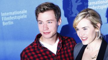 The Reader: David Kross and Kate Winslet at the Berlinale.