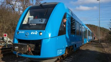 The first hydrogen-powered train has been operating in Lower Saxony since 2018.