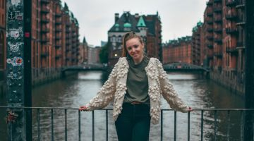 Hamburg is the perfect city for the Moldavian expat Elena.