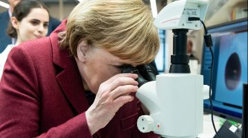 Advantage: Federal Chancellor Merkel is a scientist