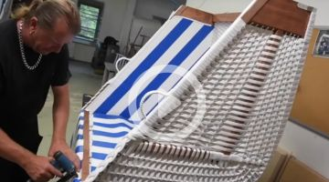 #MadeinGermany: Beach chairs are built on Usedom