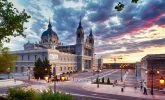 Madrid: La Almudena Cathedral.