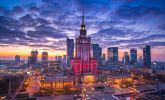 Warsaw: The Palace of Culture.