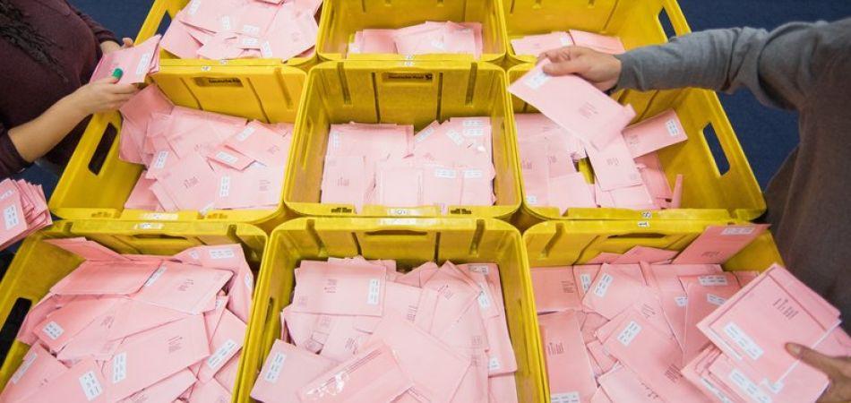 Incremento de voto por correo