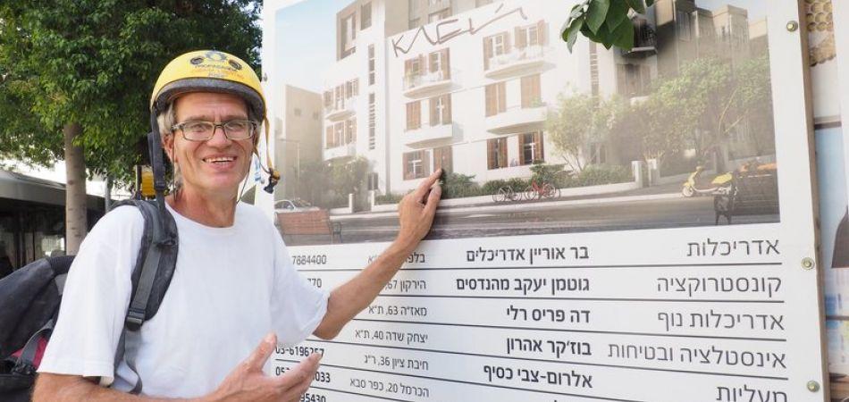 Schwabe saniert Häuser in Tel Aviv
