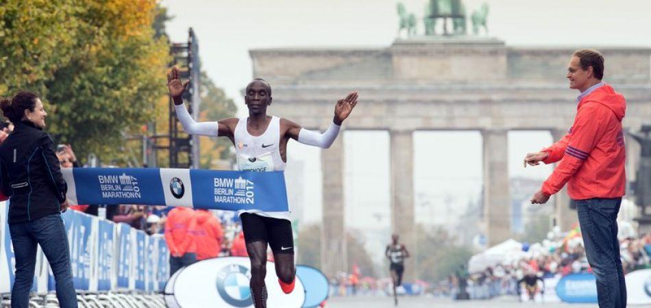 Kenianer gewinnt Berlin-Marathon