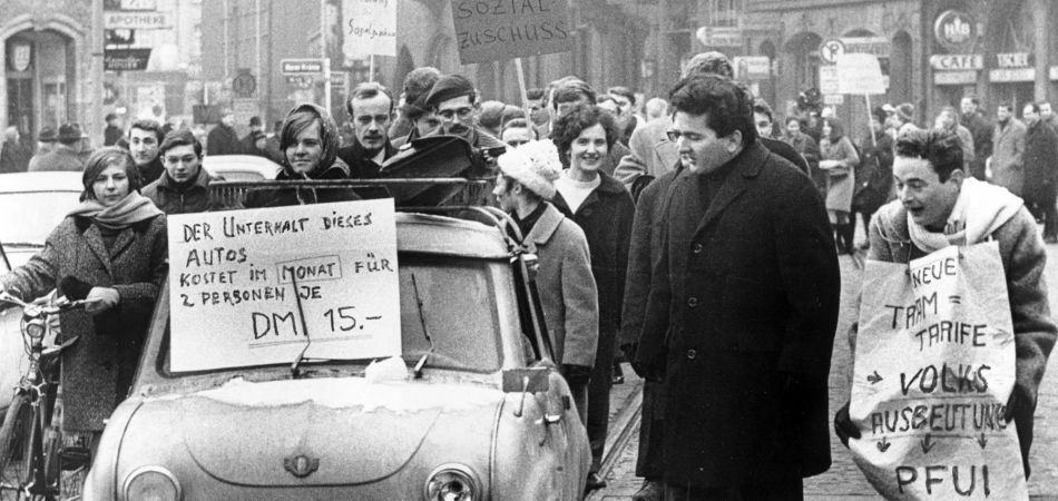 1968 in germany triggers and consequences of the protest movement