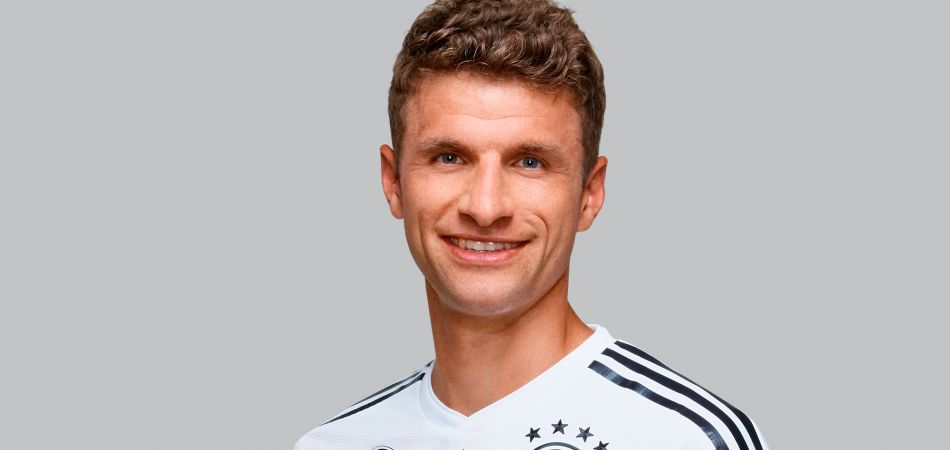 thomas müller at the 2018 fifa world cup