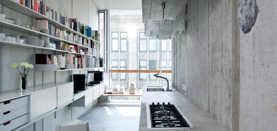 Kitchen by the architect Arno Brandlhuber