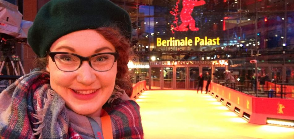 Hallie Rawlison visiting the Berlinale