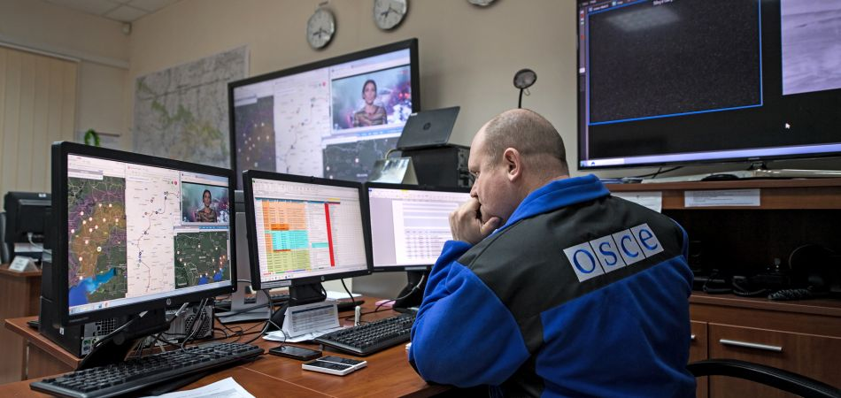 Flashpoint Ukraine: Germany is taking part in the OSCE mission.