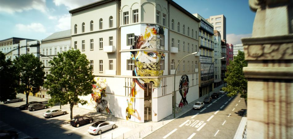 museum for urban contemporary art er ffnet in berlin. Black Bedroom Furniture Sets. Home Design Ideas