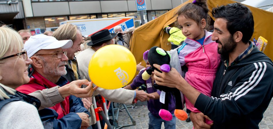Many Germans helped welcoming and integrating refugees – and are still helping.