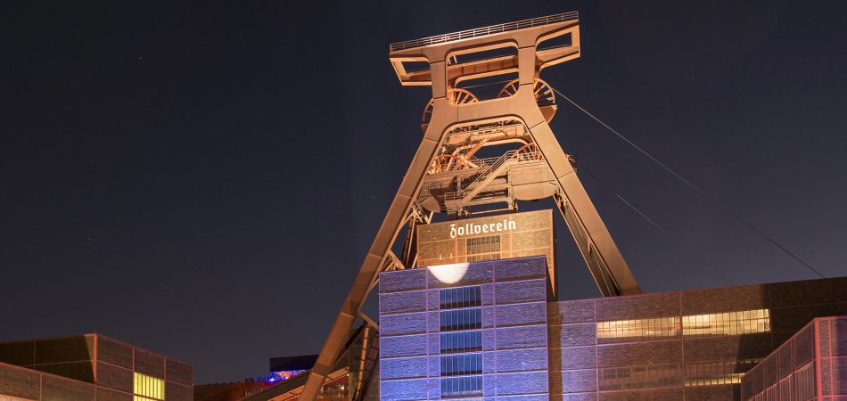 Essen in the Ruhr area: the former Zollverein colliery.
